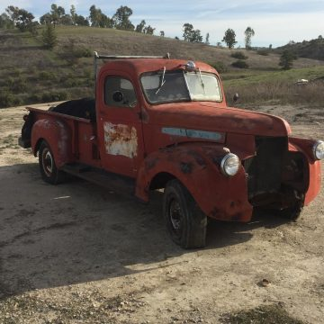 non running 1946 GMC Pick up vintage for sale
