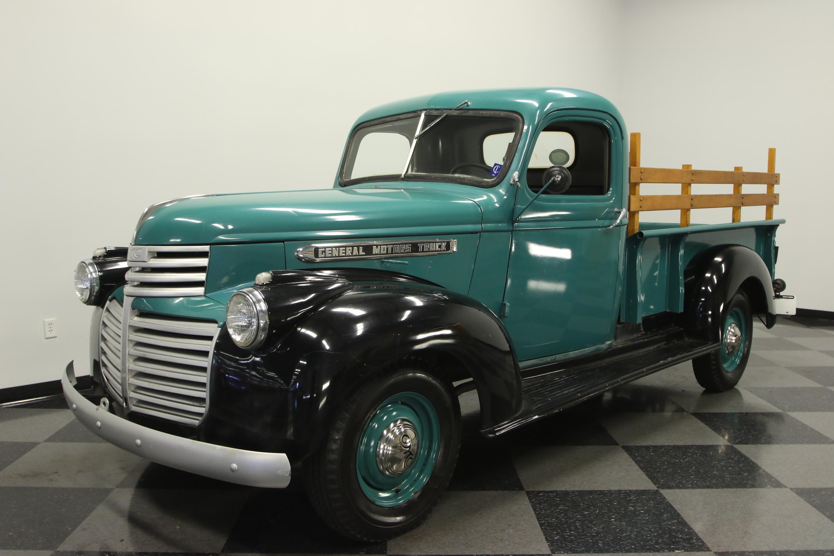 rare 1947 gmc 1 2 ton pickup vintage for sale. Black Bedroom Furniture Sets. Home Design Ideas