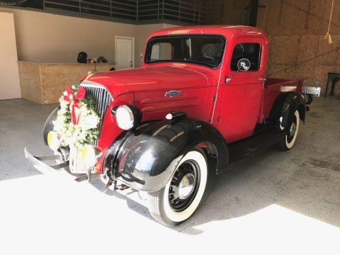 restored 1937 Chevrolet 1/2 ton pickup vintage for sale