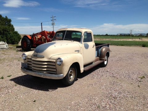 barn find 1952 Chevrolet Pickups 3100 vintage for sale