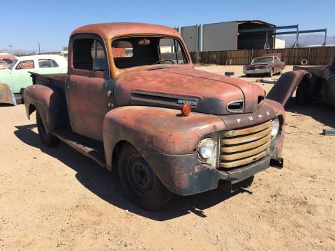 nice patina 1949 Ford Pickups vintage for sale