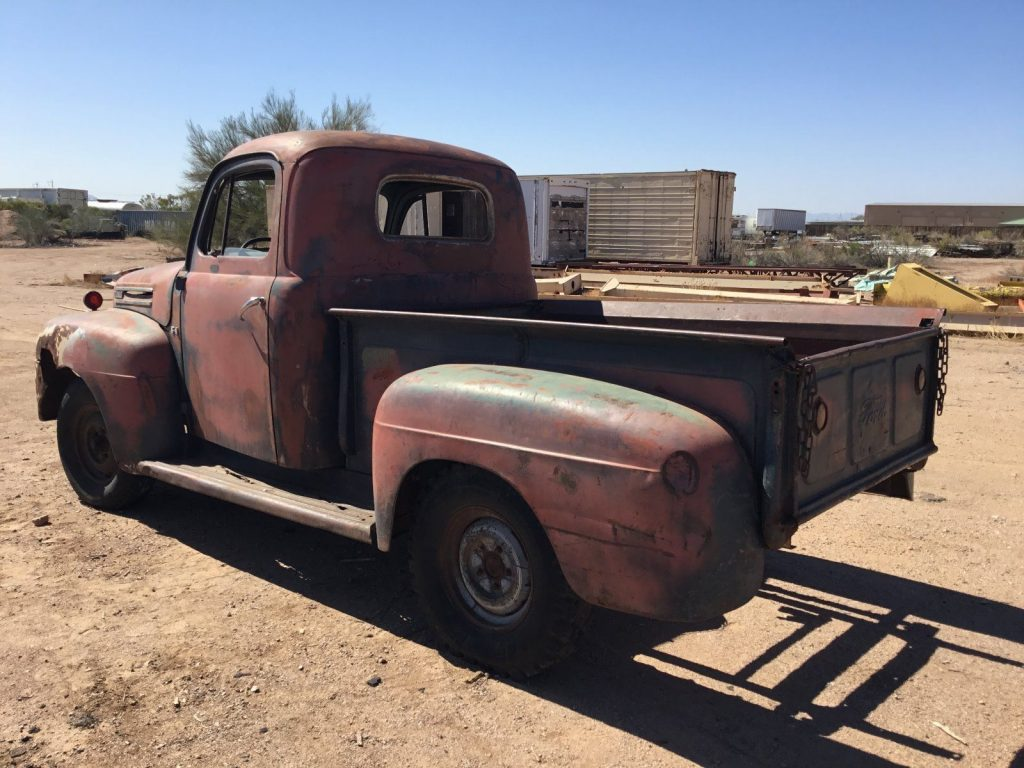 Nice Patina 1949 Ford Pickups Vintage For Sale Coe Truck