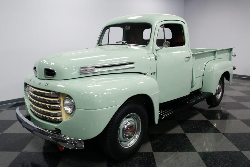 restored 1948 ford pickups vintage for sale. Black Bedroom Furniture Sets. Home Design Ideas