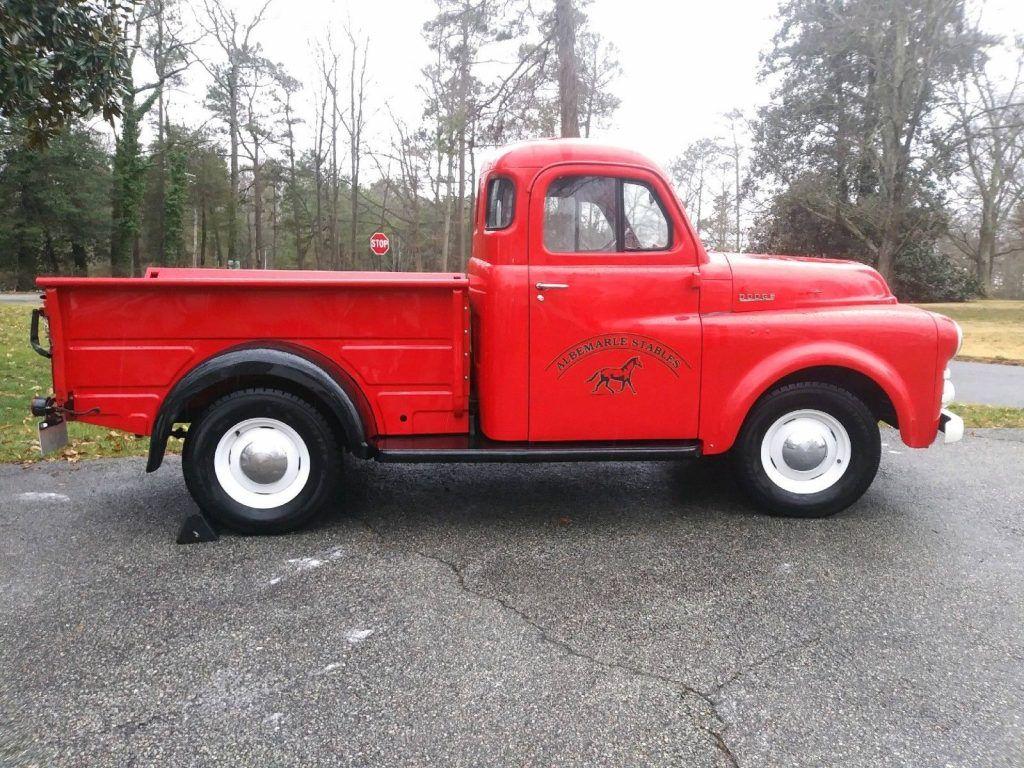 restored 1952 Dodge Pickups vintage