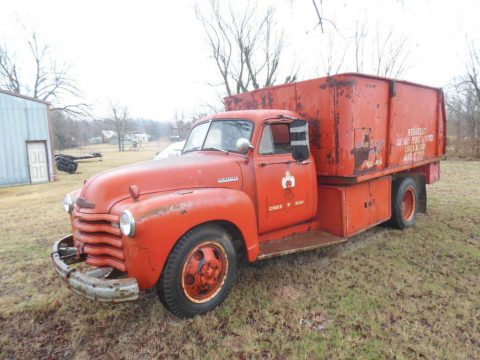 work truck 1952 Chevrolet Silverado 1500 vintage newer engine for sale