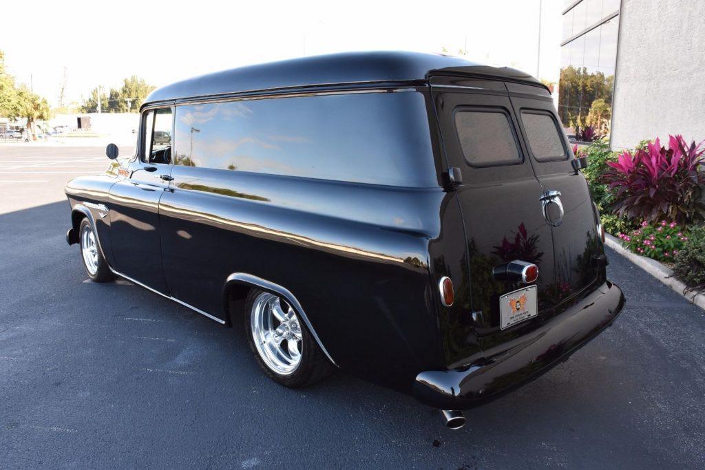 custom 1955 Chevrolet Panel Truck vintage