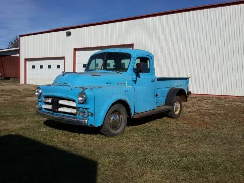farm find 1953 Dodge 5 Window pickup vintage for sale