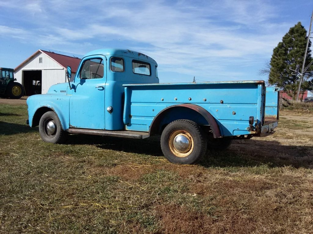 farm find 1953 Dodge 5 Window pickup vintage