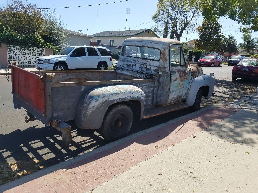 great patina 1955 Ford F 250 Pickup vintage
