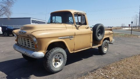 older conversion 1955 Chevrolet Pickup vintage for sale