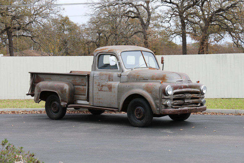 Perfect Patina Project 1953 Dodge Pickups Flathead vintage