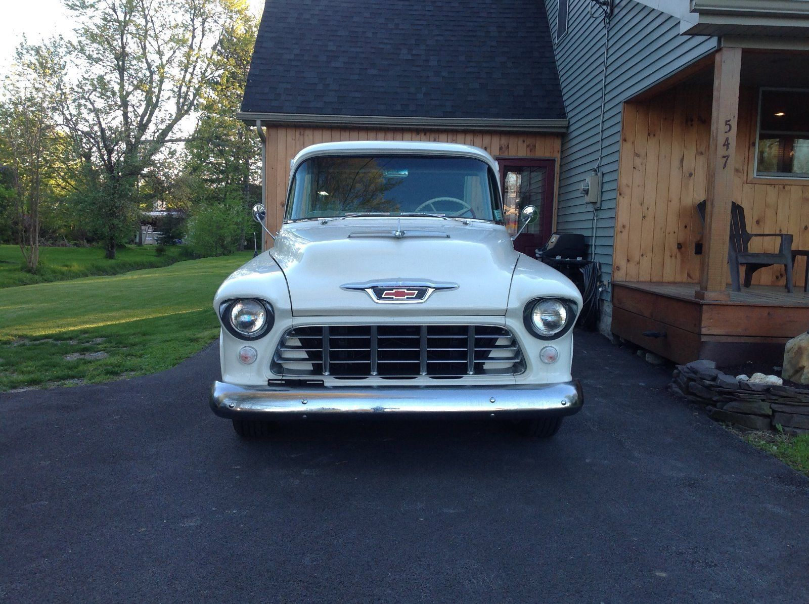Restored 1955 Chevrolet Pickups Cameo Vintage For Sale Chevy Truck