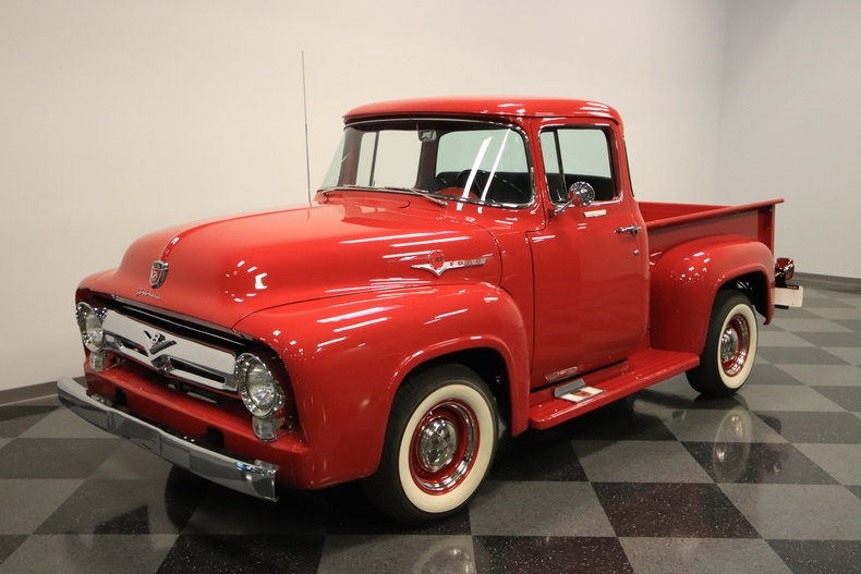 crate engine 1956 Ford F 100 vintage