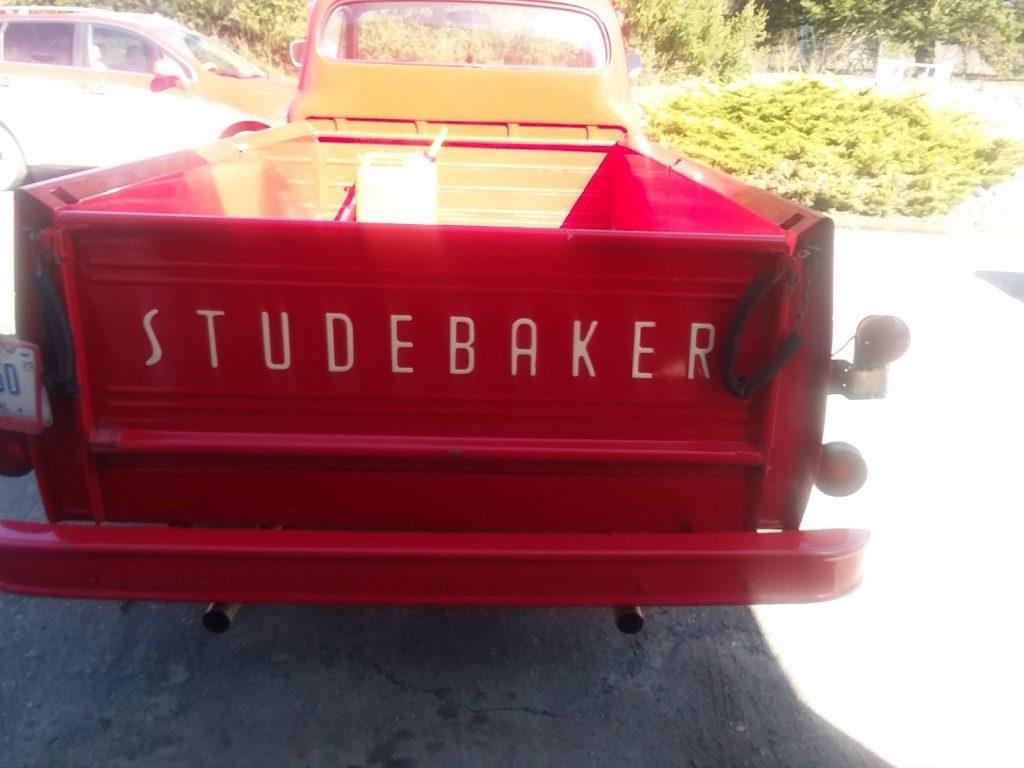 low miles 1956 Studebaker Transtar vintage