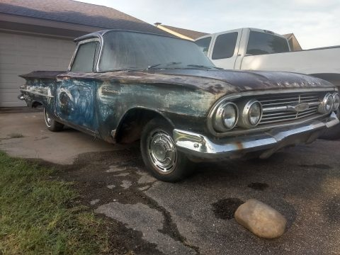 mostly complete 1960 Chevrolet El Camino vintage for sale