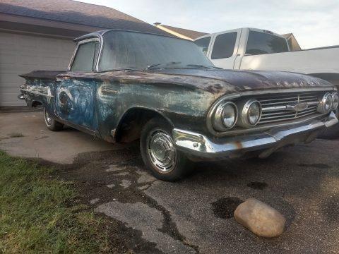 mostly complete 1960 Chevrolet El Camino vintage for sale