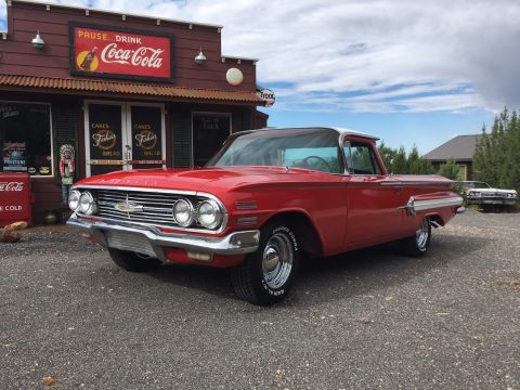 newer paint 1960 Chevrolet El Camino vintage for sale