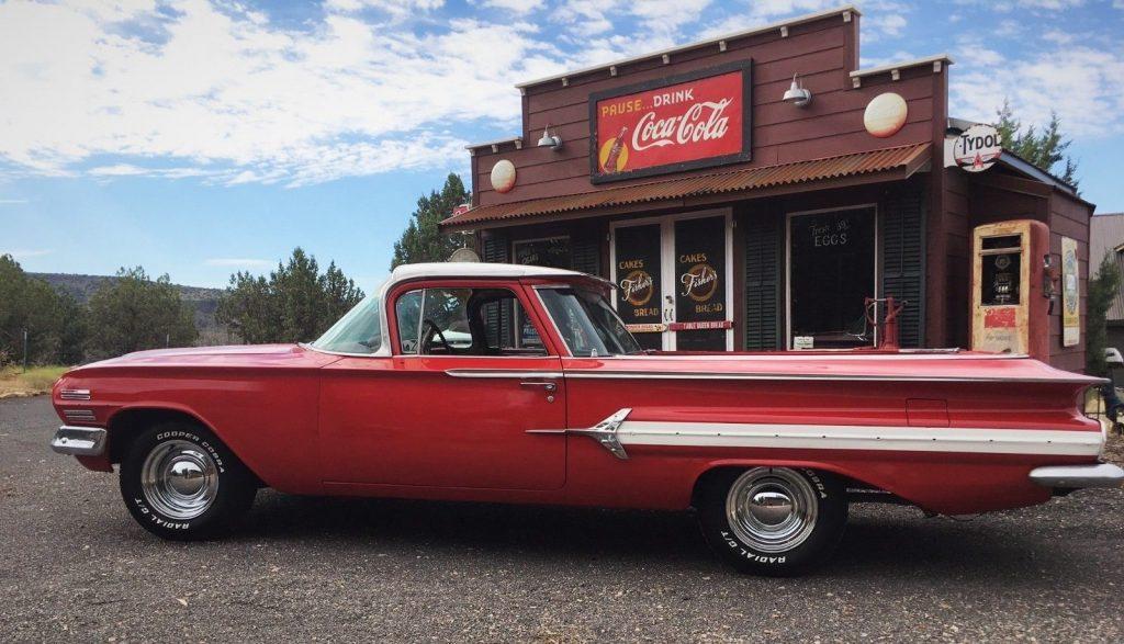 newer paint 1960 Chevrolet El Camino vintage