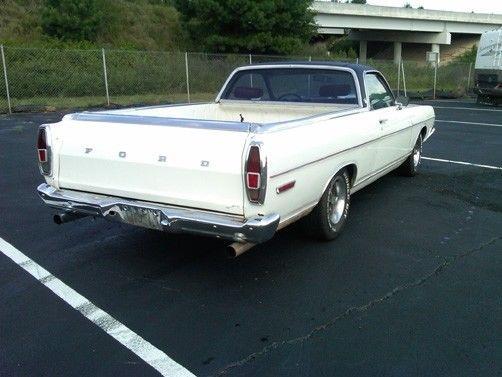 rare 1969 Ford Ranchero vintage