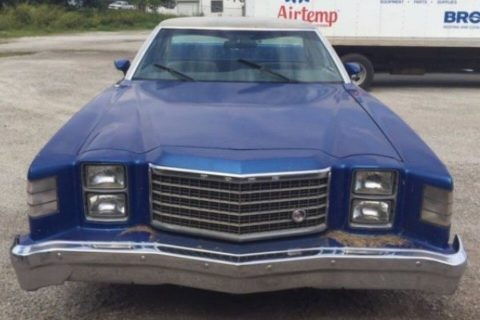 repainted 1978 Ford Ranchero Brougham GT vintage for sale