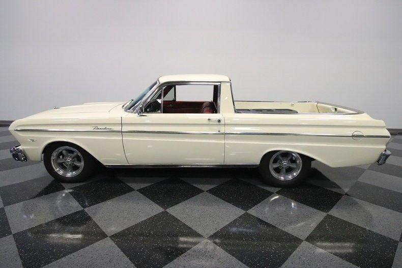 upgraded engine 1965 Ford Ranchero vintage