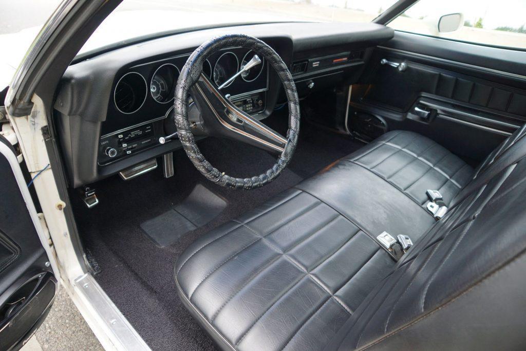 upgraded engine 1972 Ford Ranchero GT vintage