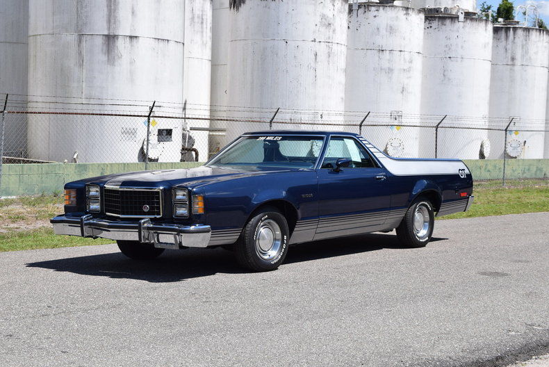 very low miles time capsule 1979 Ford Ranchero GT vintage