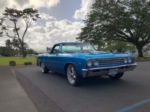 frame off restored 1967 Chevrolet El Camino vintage for sale