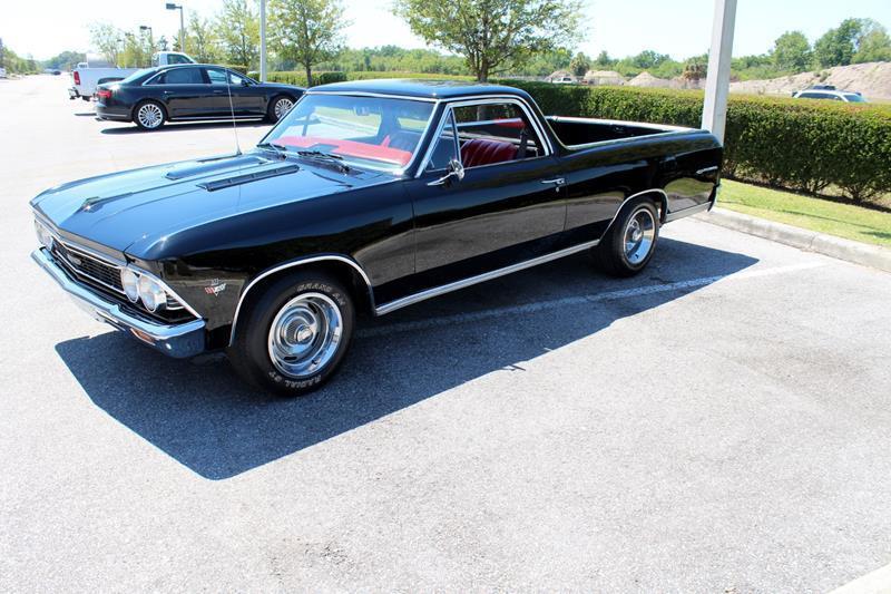 loaded 1966 Chevrolet El Camino SS vintage