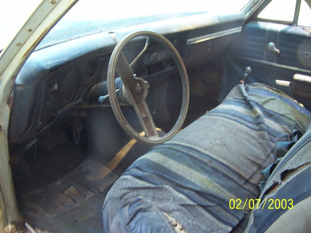 needs restoration 1969 Chevrolet El Camino vintage