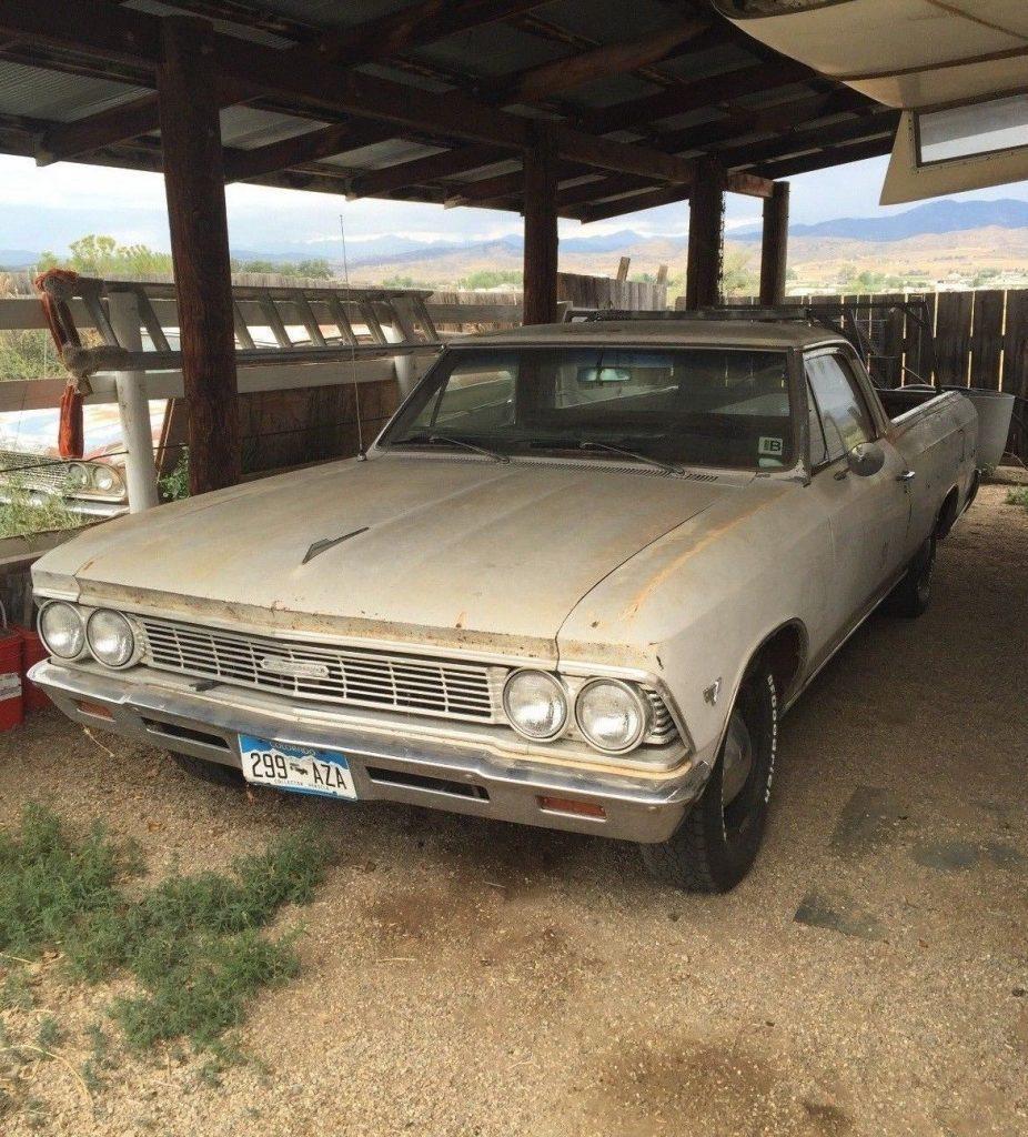 rebuilt engine 1966 Chevrolet El Camino vintage