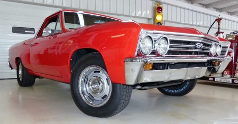 restored 1967 Chevrolet El Camino vintage for sale