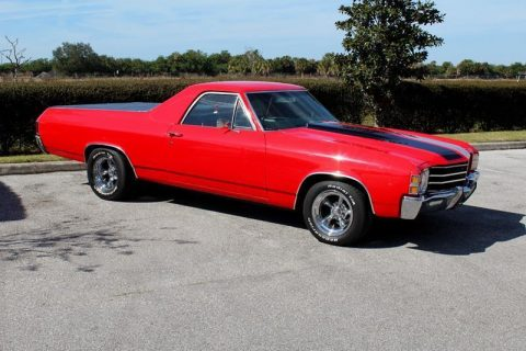 restored 1972 Chevrolet El Camino vintage for sale