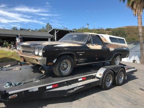 some rust 1970 Chevrolet El Camino vintage for sale