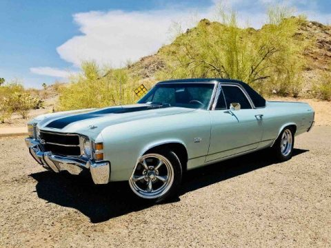 very low miles 1971 Chevrolet El Camino SS vintage for sale