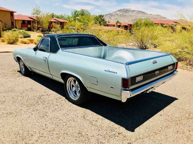 very low miles 1971 Chevrolet El Camino SS vintage