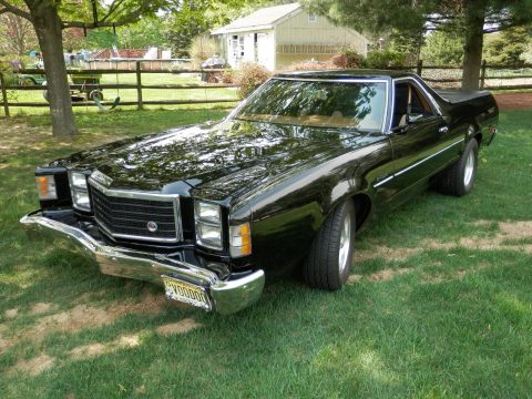 garage kept 1979 Ford Ranchero GT vintage truck for sale