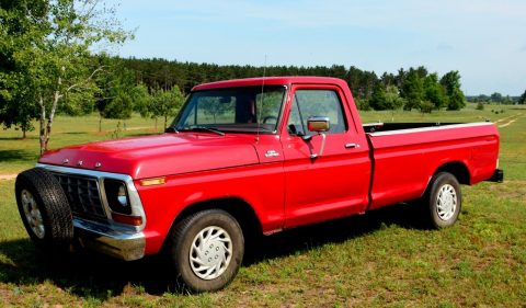 needs some work 1978 Ford F 100 vintage truck for sale