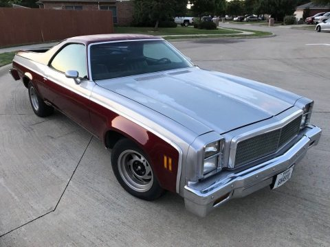 Recently serviced 1976 Chevrolet El Camino vintage truck for sale