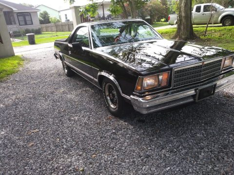 very low miles 1979 Chevrolet El Camino vintage truck for sale