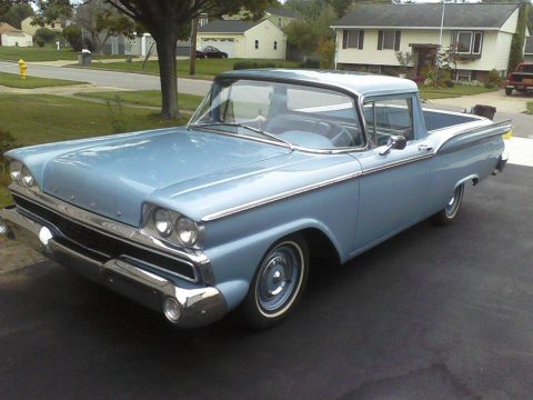daily driver in great shape 1959 Ford Ranchero vintage truck for sale