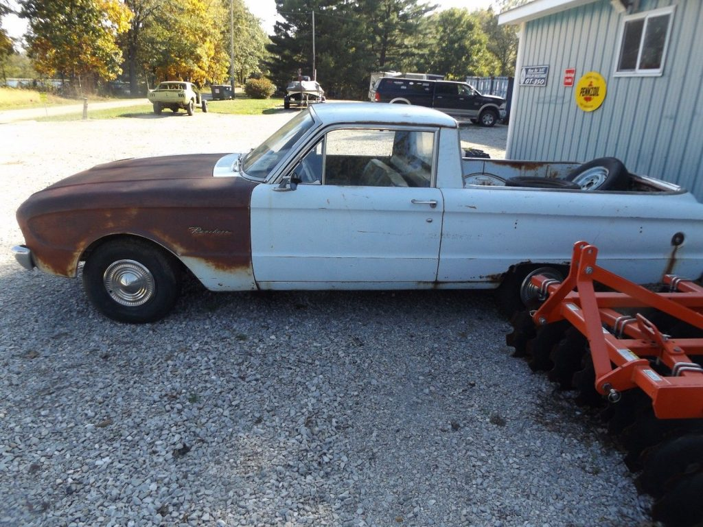 Needs Work 1960 Ford Falcon Ranchero Vintage Truck For Sale 1964