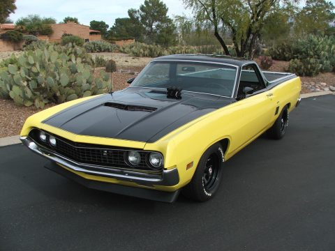 rare 1970 Ford Ranchero GT vintage truck for sale