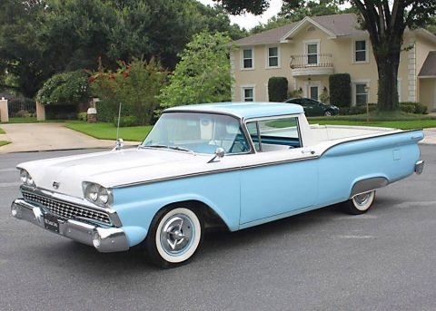 restored 1959 Ford Ranchero vintage truck for sale