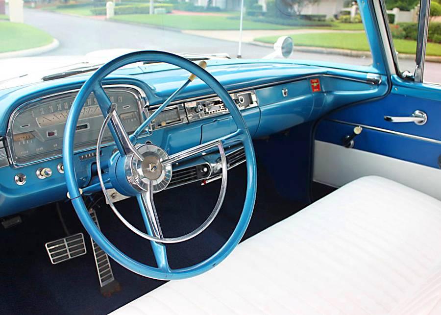 restored 1959 Ford Ranchero vintage truck