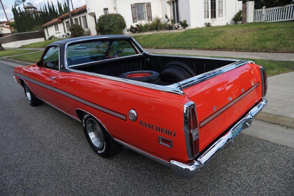 restored 1971 Ford Pickups vintage truck