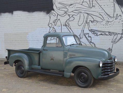 solid 1953 Chevrolet Pickups vintage truck for sale
