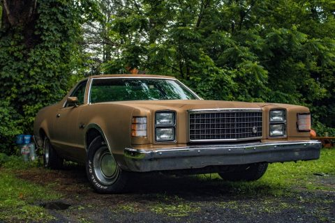solid 1978 Ford Ranchero 500 vintage truck for sale