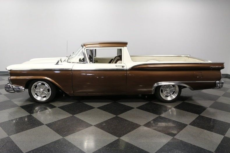 super clean 1959 Ford Ranchero vintage truck
