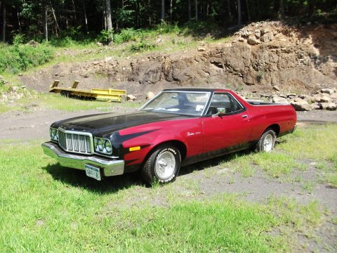 three on the tree 1974 Ford Ranchero vintage truck low miles for sale